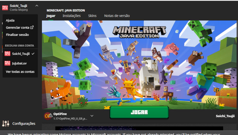 Minecraft FUll Acesso Sem banimentos