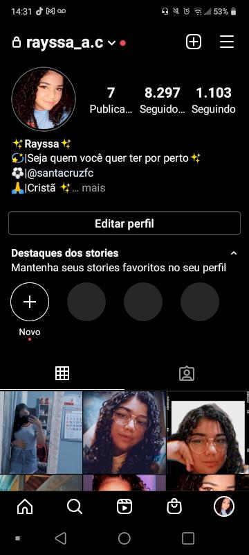 Instagram com mais de 8k