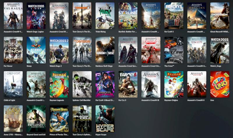 Conta Uplay / Ubisoft com mais de 20 jogos incluindo mais recentes