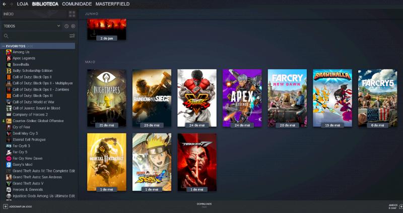 Conta Steam Level 11, mais de 40 jogos, cs go com prime
