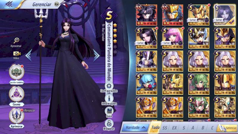 Pandora Comandante, Hades e Poseidon