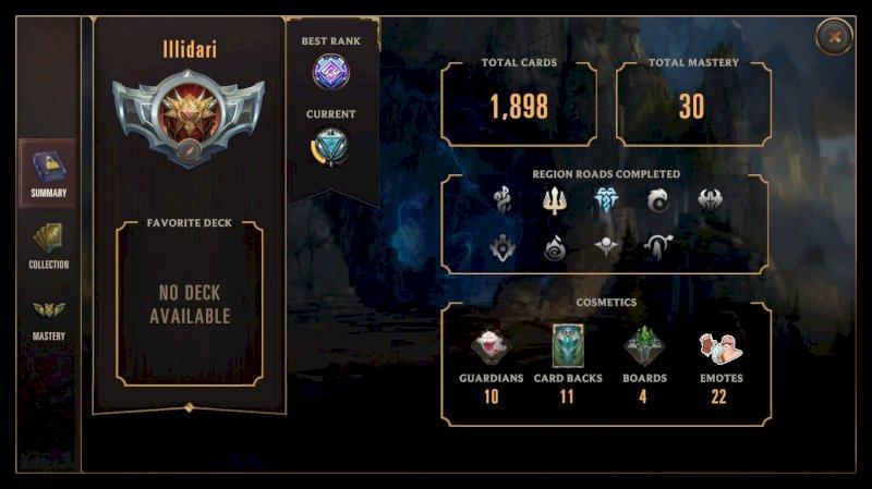 Conta Legends Of Runeterra