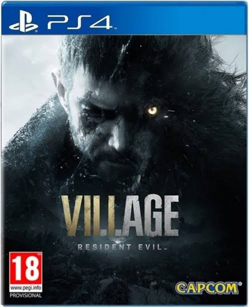 Conta com Jogo Resident Evil: Village/ Resident Evil: 7/ RE: Reverse PSN