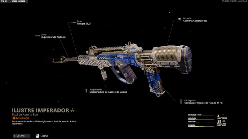 Conta com Call of Duty Cold War + Pacote Passe de Batalha Premium Temporada 5