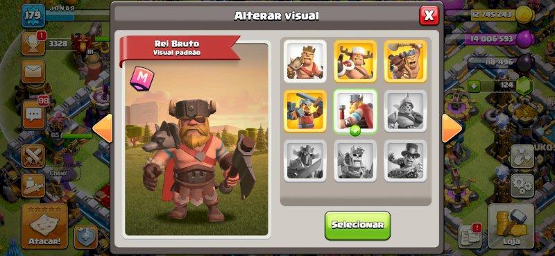 Conta clash of clans th 13