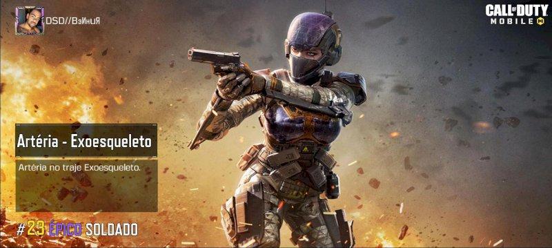 Conta Call of Duty mobile, Super Completa