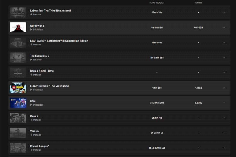 Vendo conta Epic games com mais de 100 jogos. + conta ubisoft