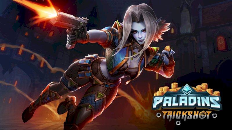 Conta do Paladins da Steam com 456 skins.