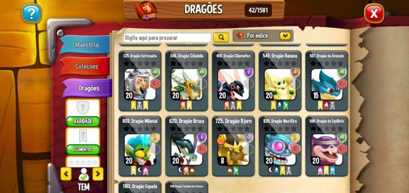 Dragon City lendaria intermediaria ou para inciante começar muito bem!