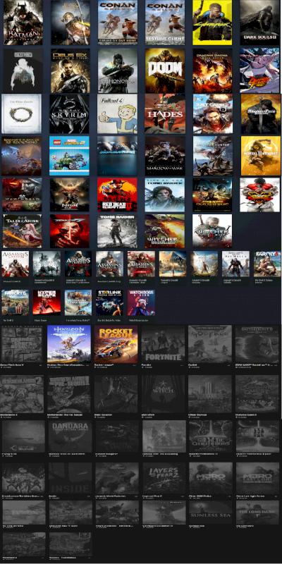 Quero vender minha conta steam, ubisoft e epic games(plataforma pc) ,
