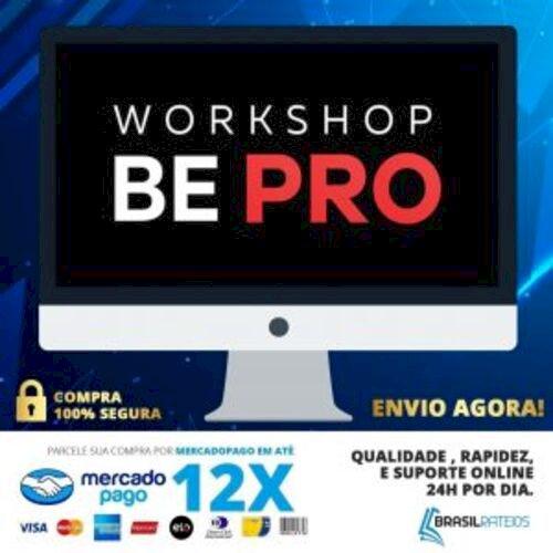 Curso Workshop Be Pro Edição De Imagens - Rafael Ferreira