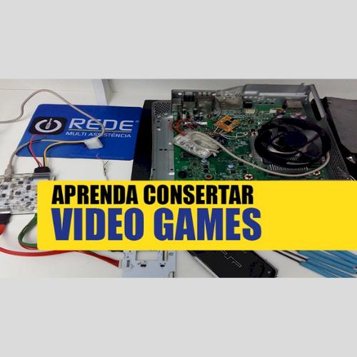 Curso Manutenção de Xbox, PS2 e PS3