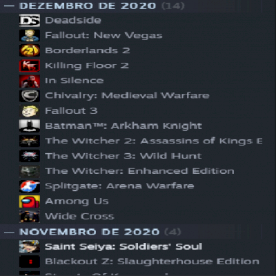 Conta Steam LVL 28/5 anos