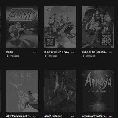 Conta Epic GAMES + 100 jogos