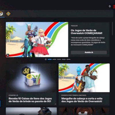 Conta Blizzard com Overwatch