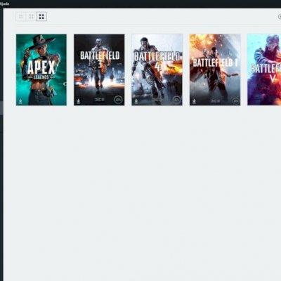 Conta Origin Apex Legends, BF3, BF4, BF1 e BF5