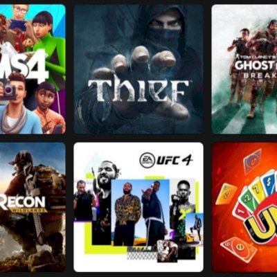 Conta digital com 30 jogos, avaliado em 500$
