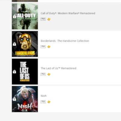 Conta PSN mais de 30 Jogos