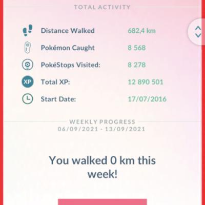 Pokémon Go lvl 38