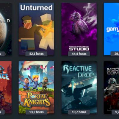Conta Steam Nvl 9, 4 anos, 50 jogos