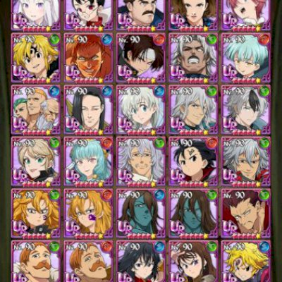 CONTA 7DS GRAND CROSS - END GAME