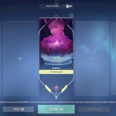 Conta Valorant diamante 1 e diversas skins + conta LOL rankeada liberada