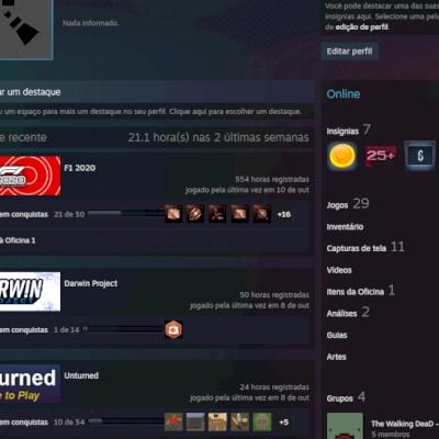 Conta Steam (CS:GO PRIME) + 20 JOGOS