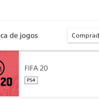 CONTA PS4 COM DIVERSOS JOGOS