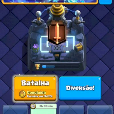 Clash royale conta nivel 9 com troca de nome desafiante 1