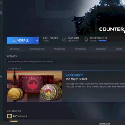 Vendo conta da Steam com Vários jogos com super desconto